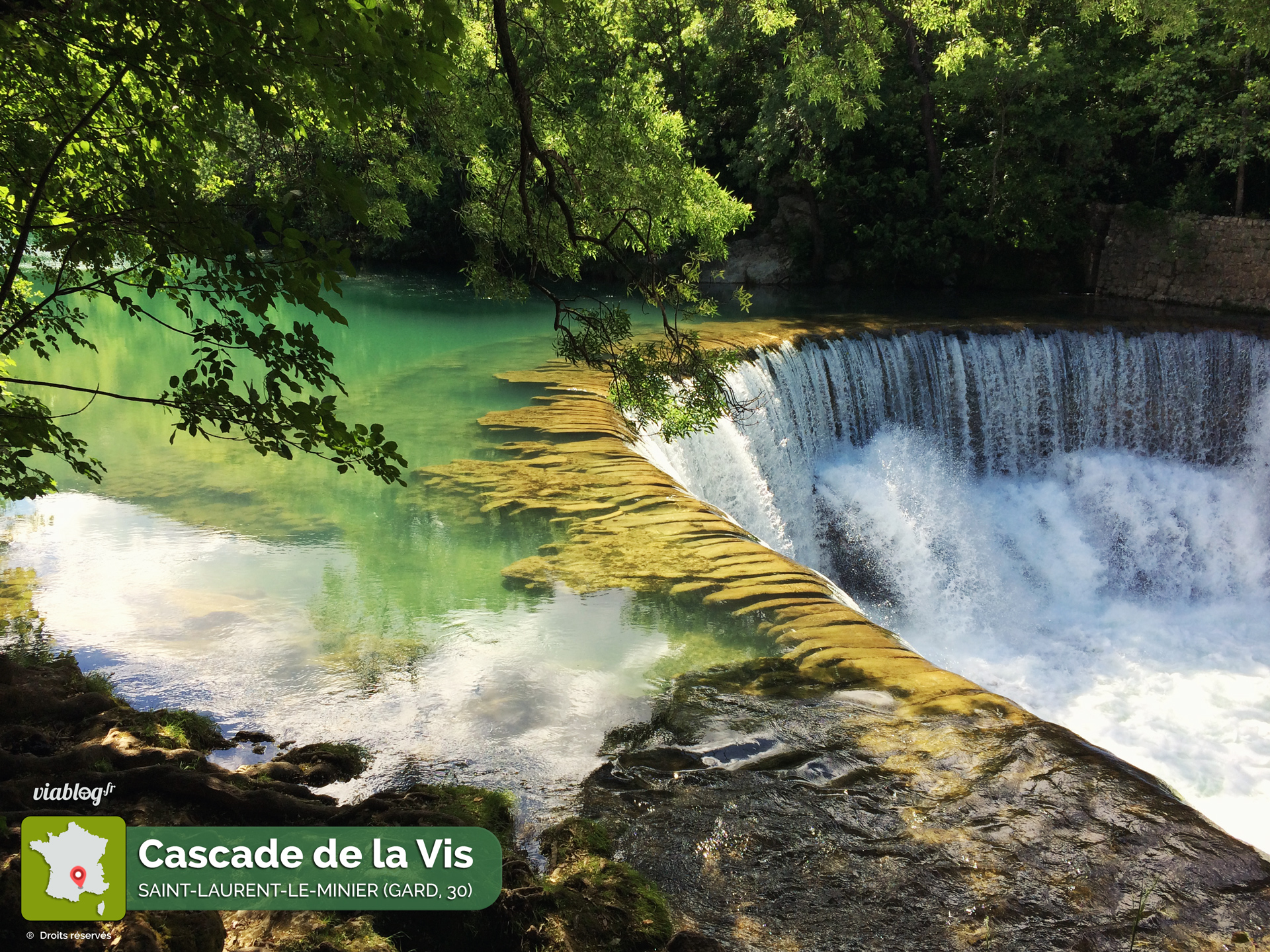 Cascade de la Vis St-Laurent le Minier 30