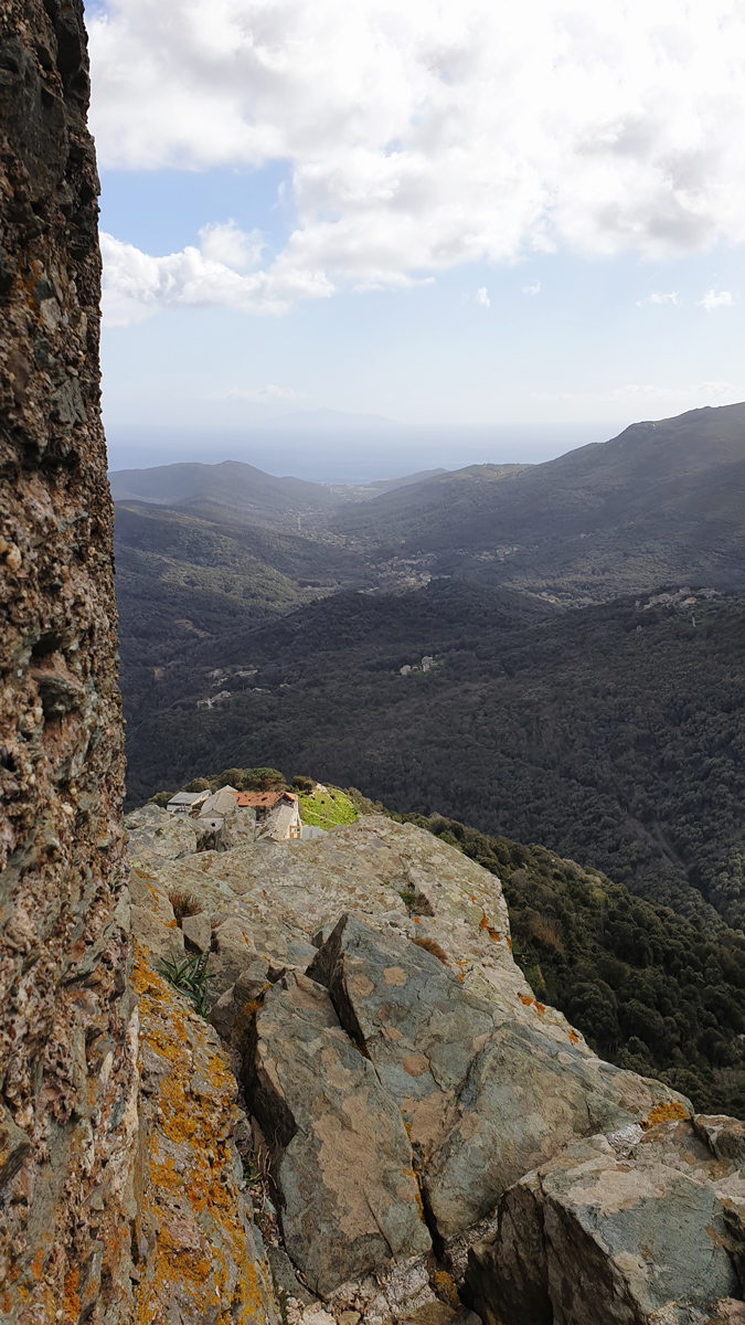 randonne tour seneque Cap Corse
